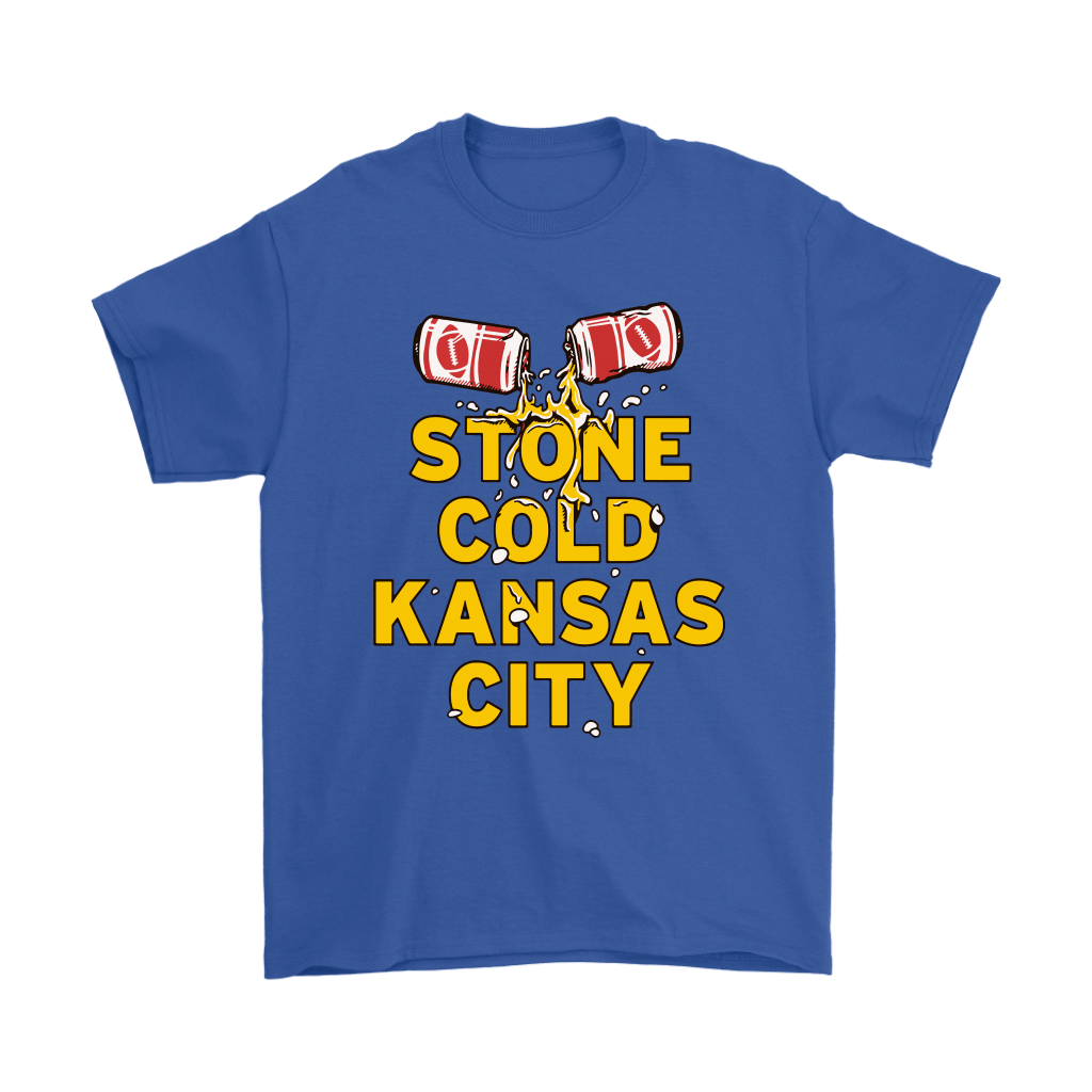 Stone Cold Kansas City Chief Football Beer Shirts 5