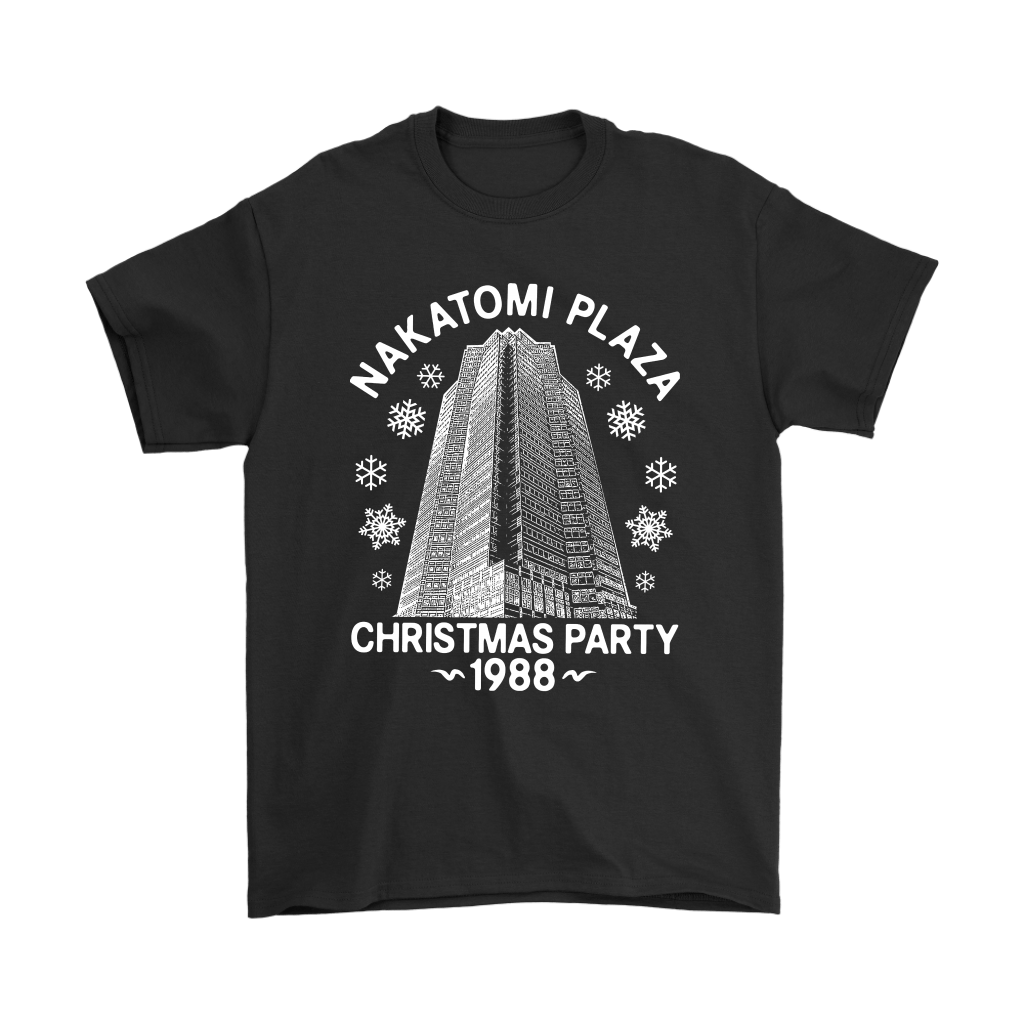 Nakatomi Plaza Christmas Party 1988 Die Hard Shirts 1