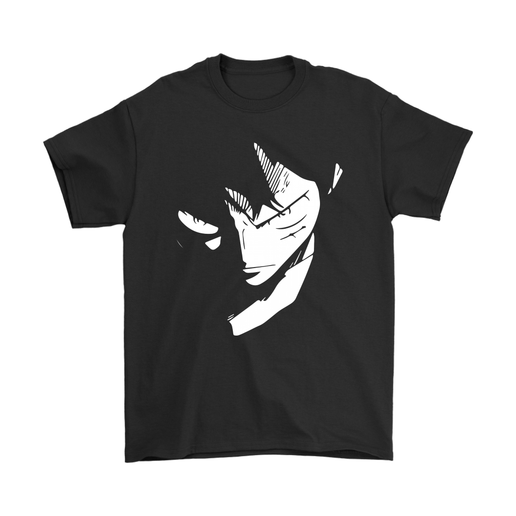 One Piece Serious Luffy Glares Shirts 1