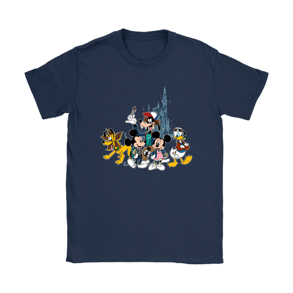 Mickey Mouse And Friends Disney Stranger Things Mashup Shirts 9