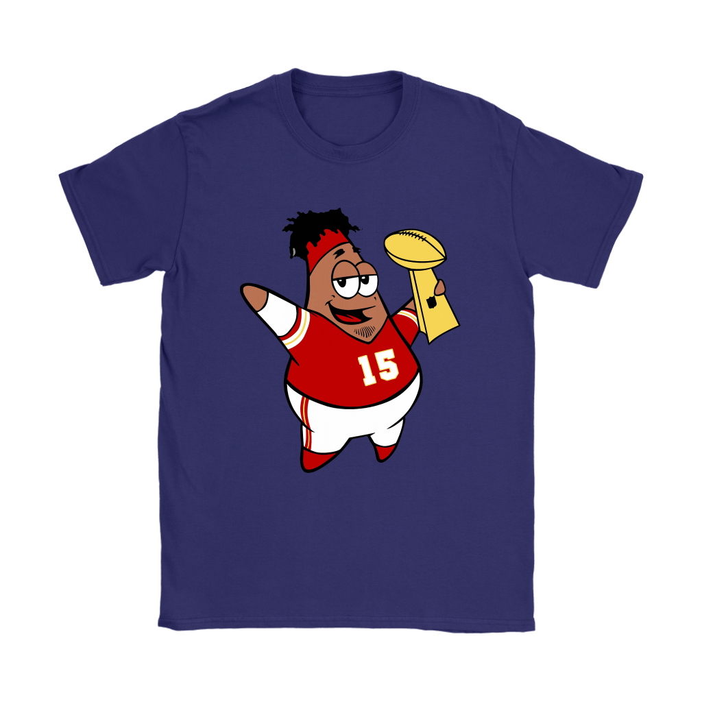 This Is Patrick Super Bowl Champions SpongeBob Mahomes Shirts 24