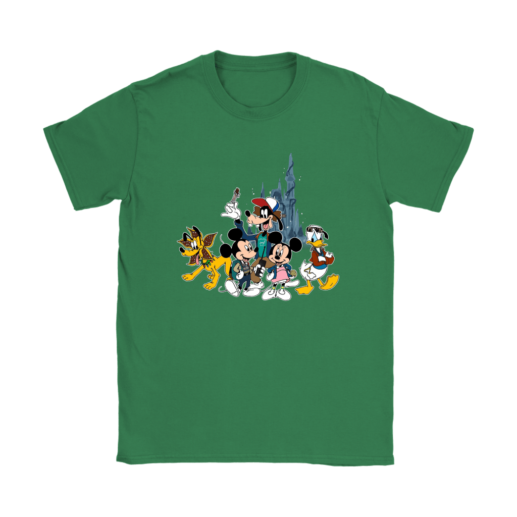 Mickey Mouse And Friends Disney Stranger Things Mashup Shirts 12