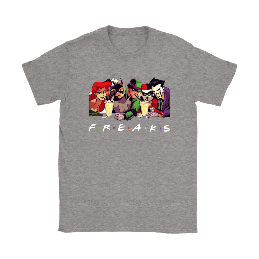 Ivy Two Face Catwoman Riddler Harley Joker DC Comics FREAKS Shirts 12