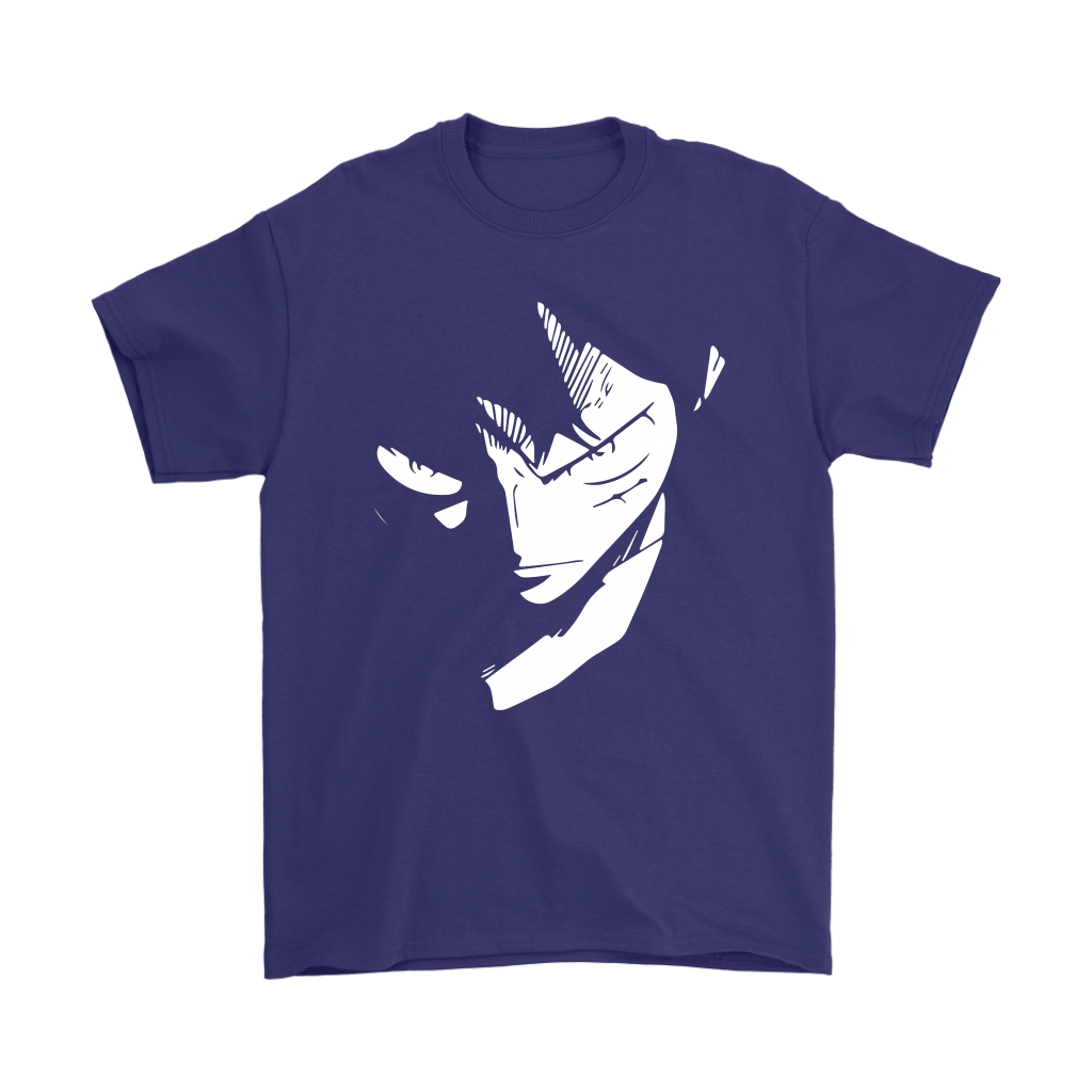 One Piece Serious Luffy Glares Shirts 4