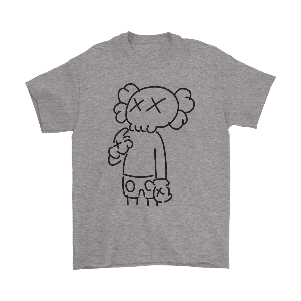 KAWS In Underware Wondering About It Shirts 1