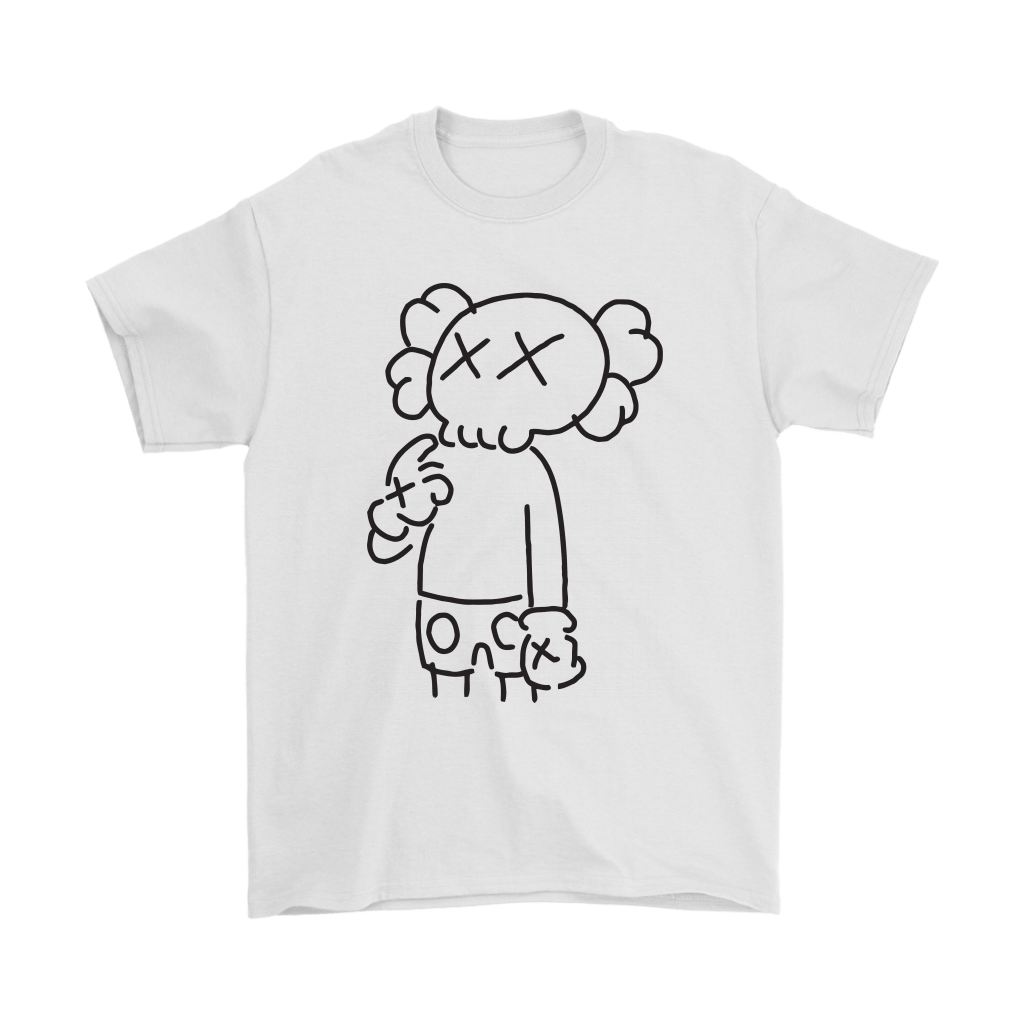 KAWS In Underware Wondering About It Shirts 5