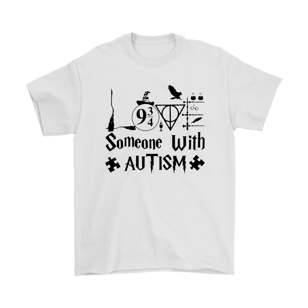 Harry Potter Someone With Autism Puzzle Autism Awareness Shirts 1