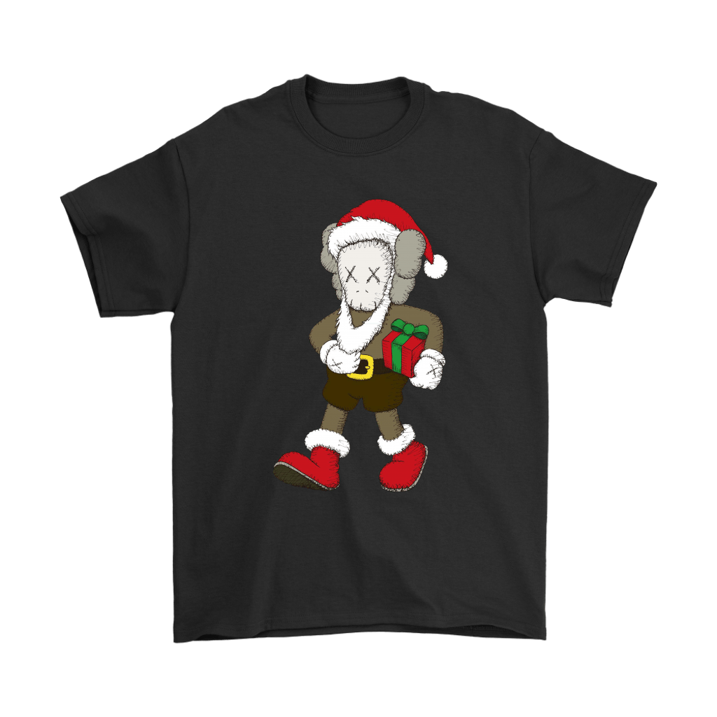 Santa Claus KAWS Brings The Christmas Gift Shirts 1