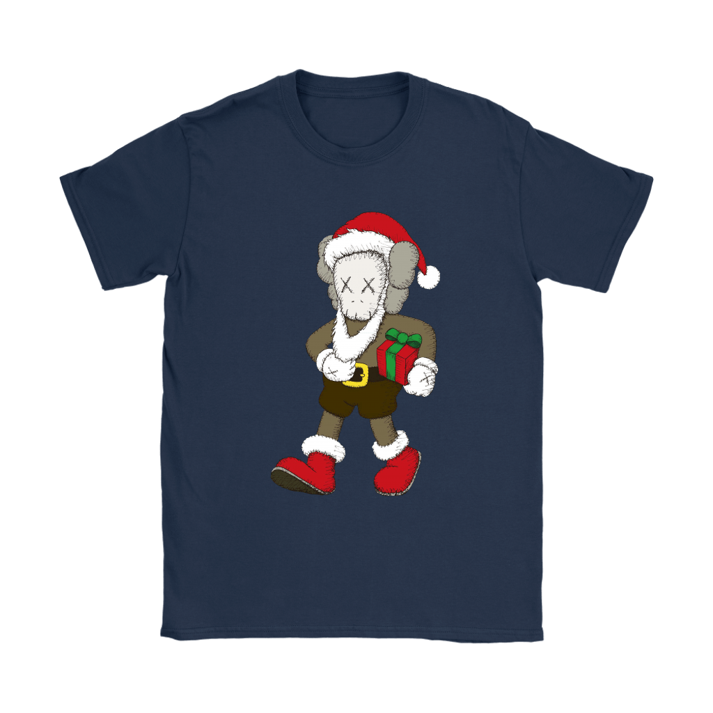 Santa Claus KAWS Brings The Christmas Gift Shirts 10