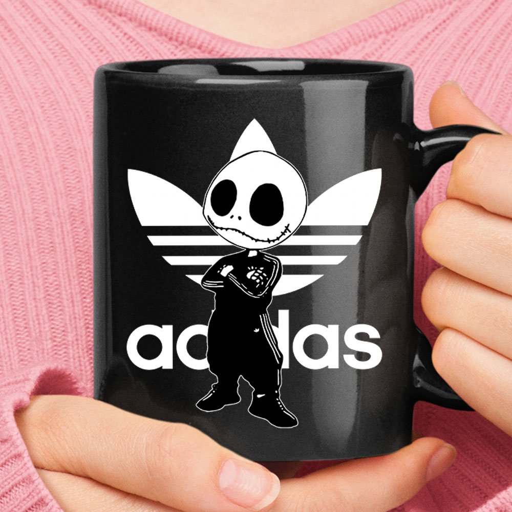 Jack Skellington In Adidas Suit Mashup Disney Mug 1