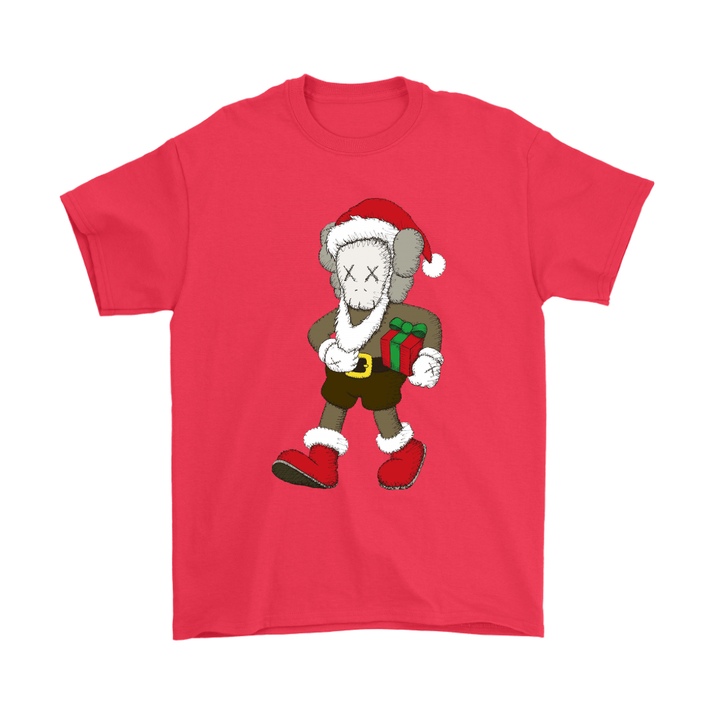 Santa Claus KAWS Brings The Christmas Gift Shirts 4