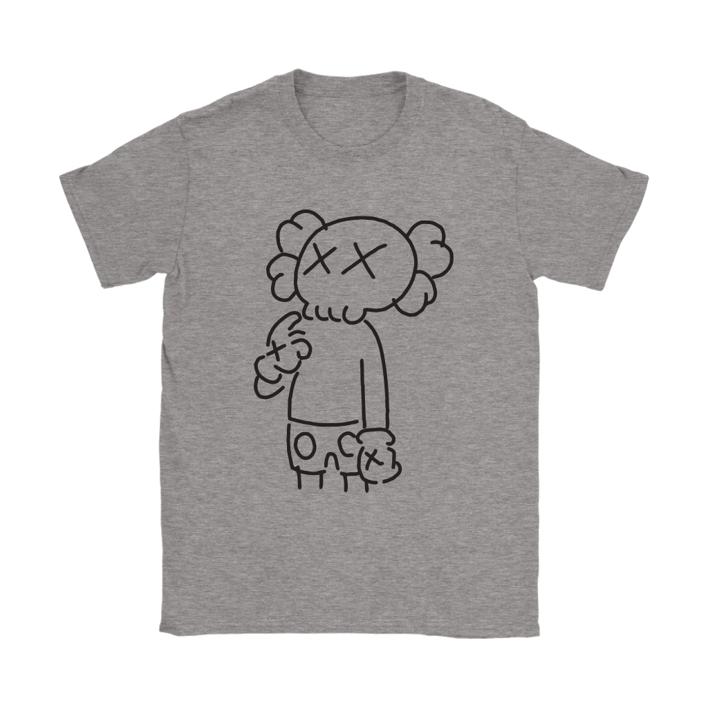 KAWS In Underware Wondering About It Shirts 3