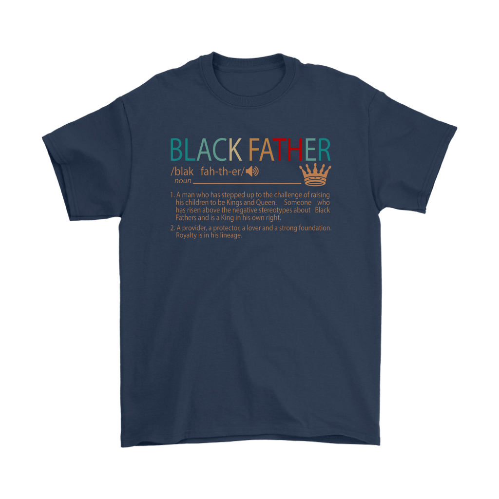 Black Father Definition Vintage Shirts 2