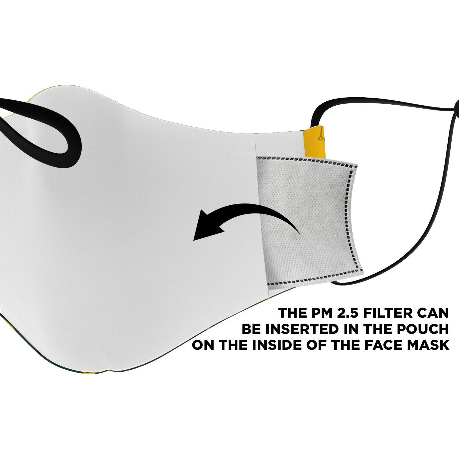 This Is How I Save The World Green Bay Packers Face Masks 4
