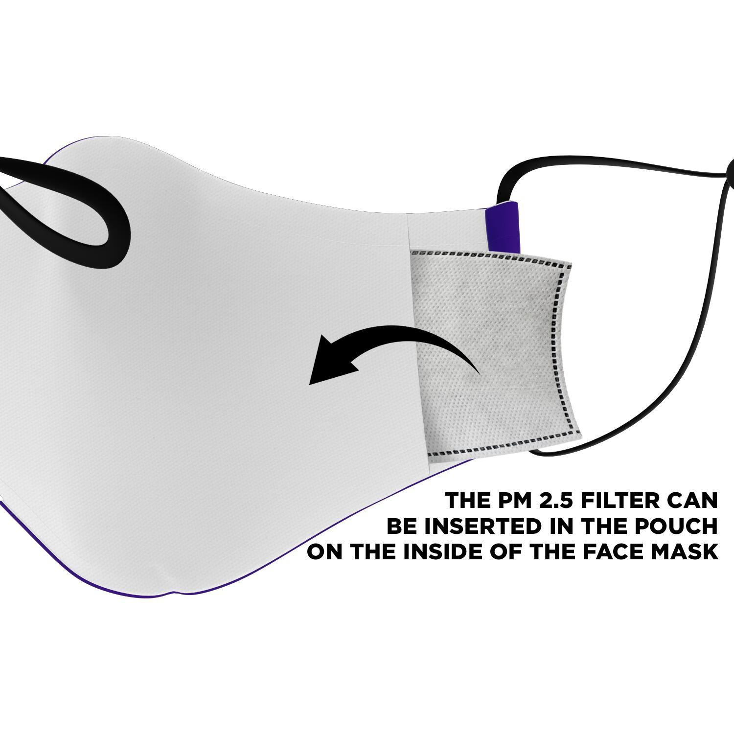In A World Where You Can Be Anything Be Kind Autism Awareness Face Mask 3