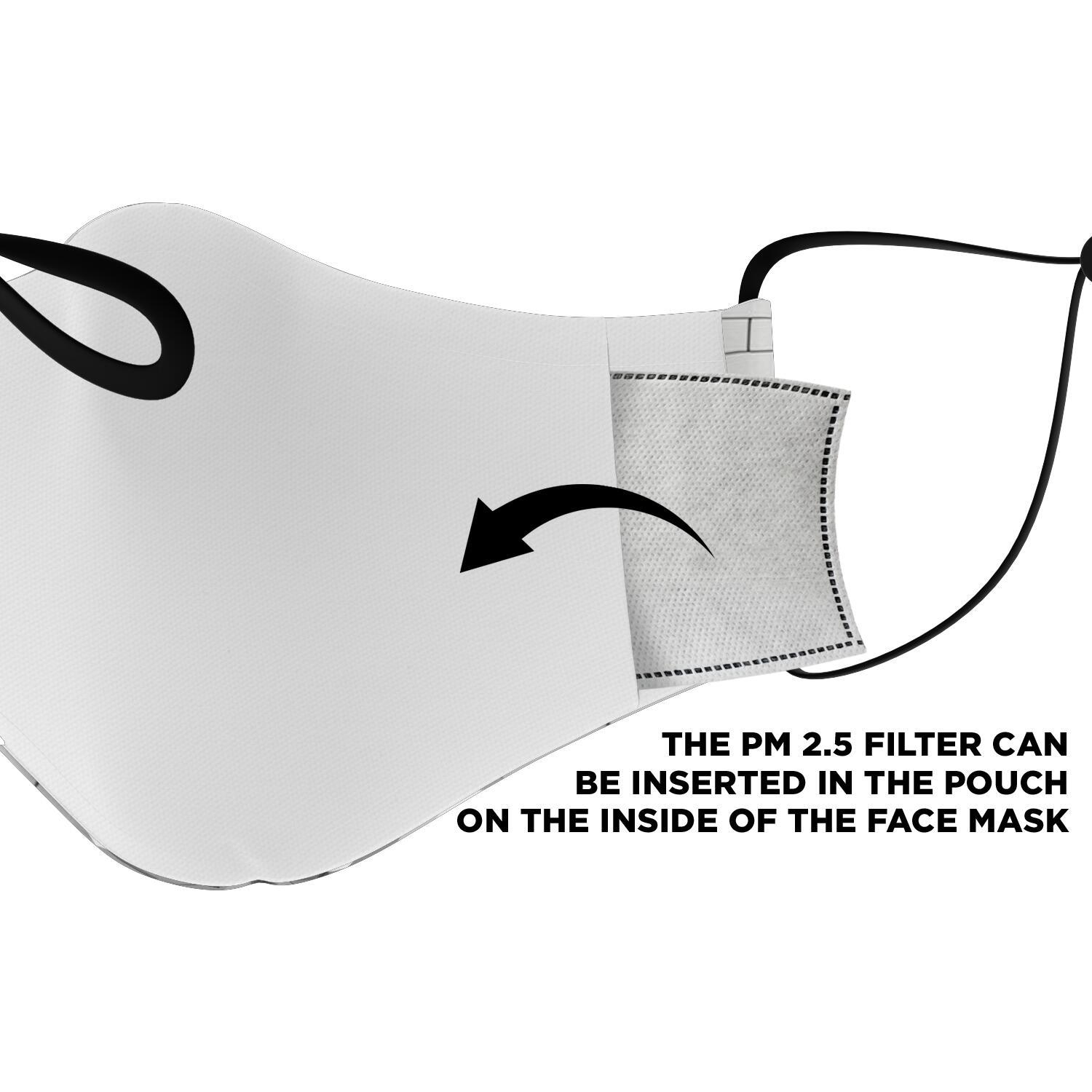 Pink Floyd The Wall Dark Side Of The Moon Face Mask 3