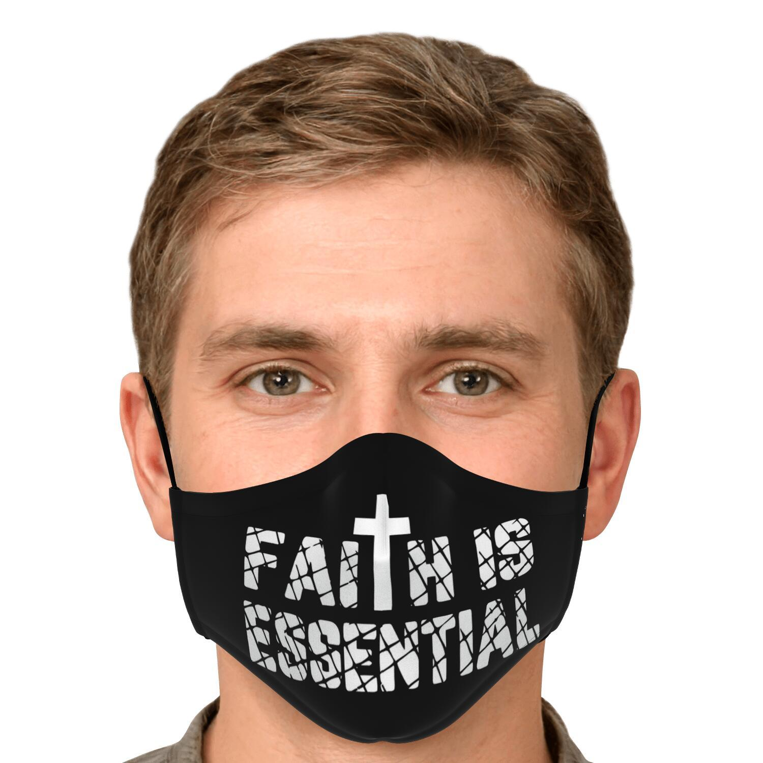 Faith Is Essential Face Mask 4