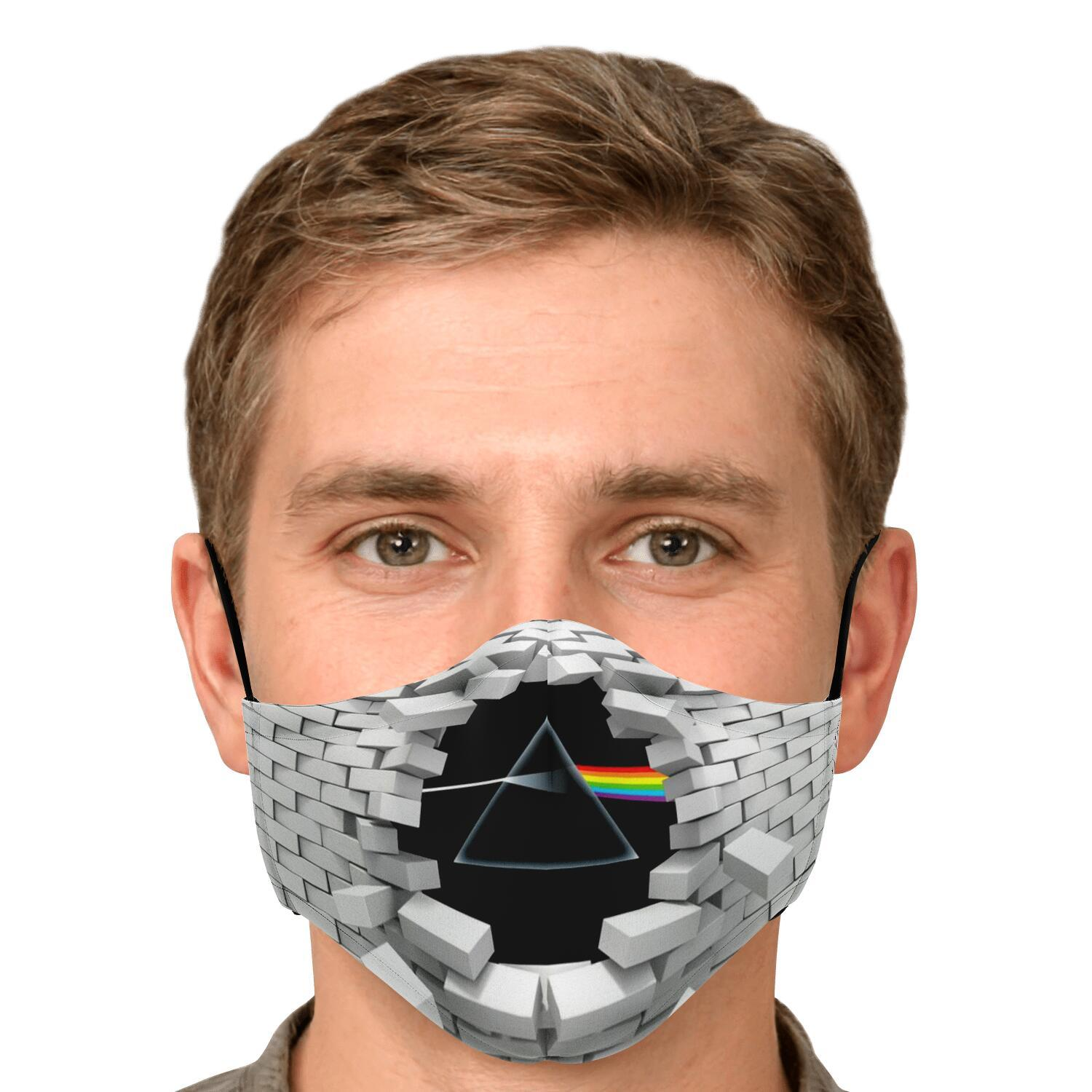 Pink Floyd The Wall Dark Side Of The Moon Face Mask 4