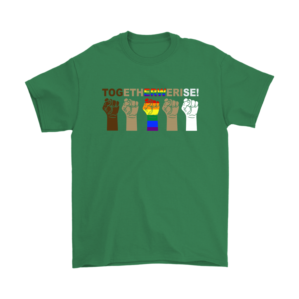 LGBT TOGETHER WE RISE Shirts 5