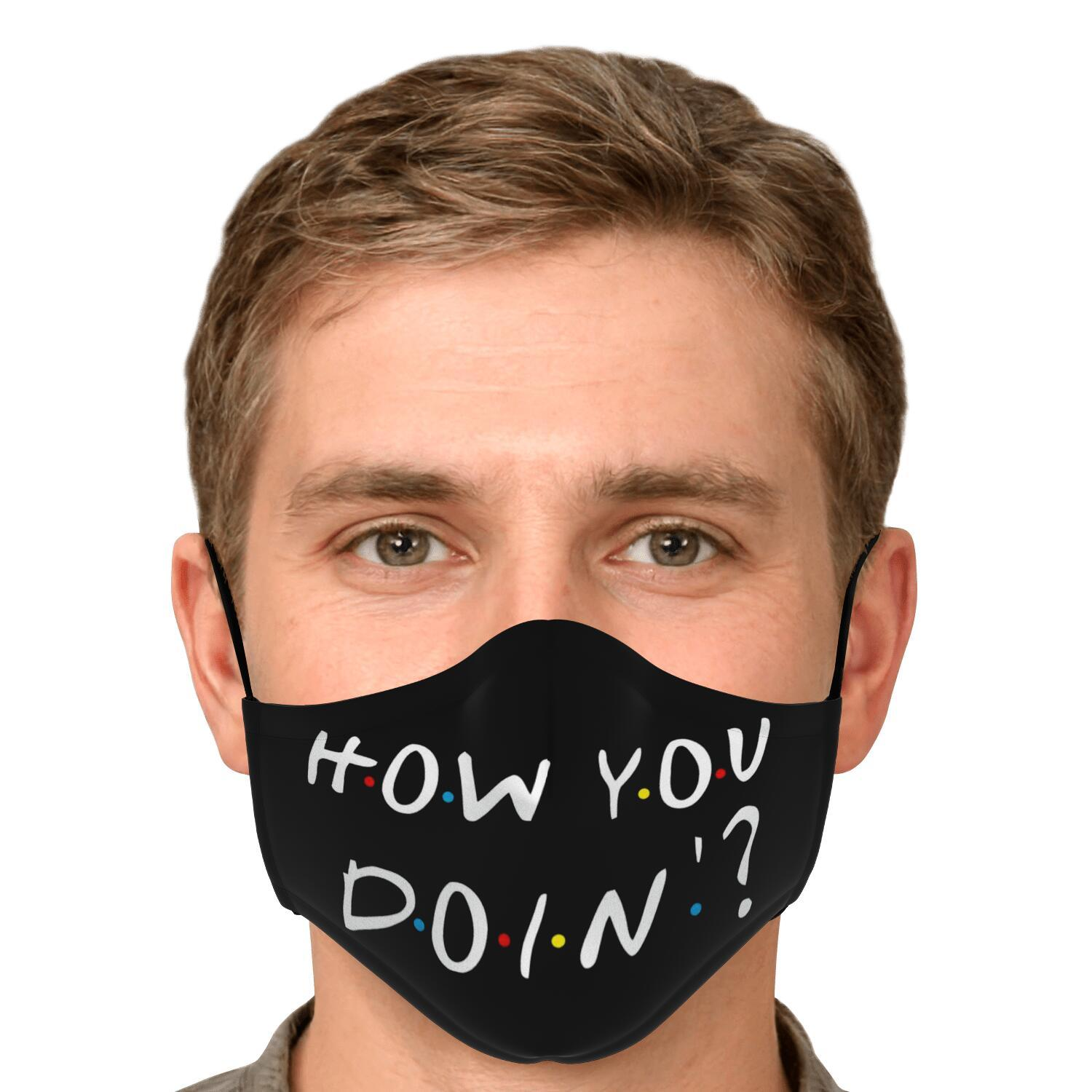How You Doin'? Joey F.R.I.E.N.D.S Face Mask 4