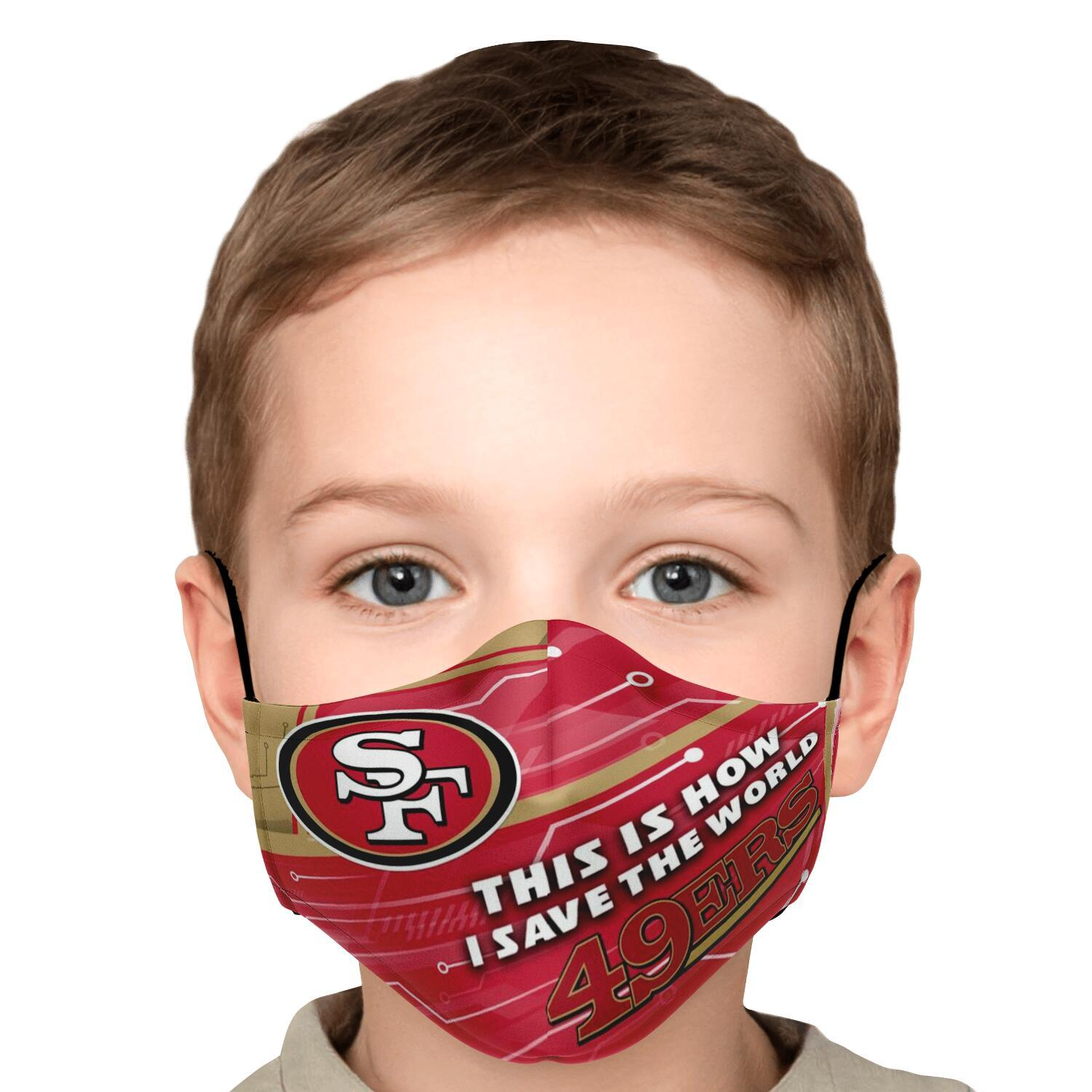 This Is How I Save The World San Francisco 49ers Face Masks 5