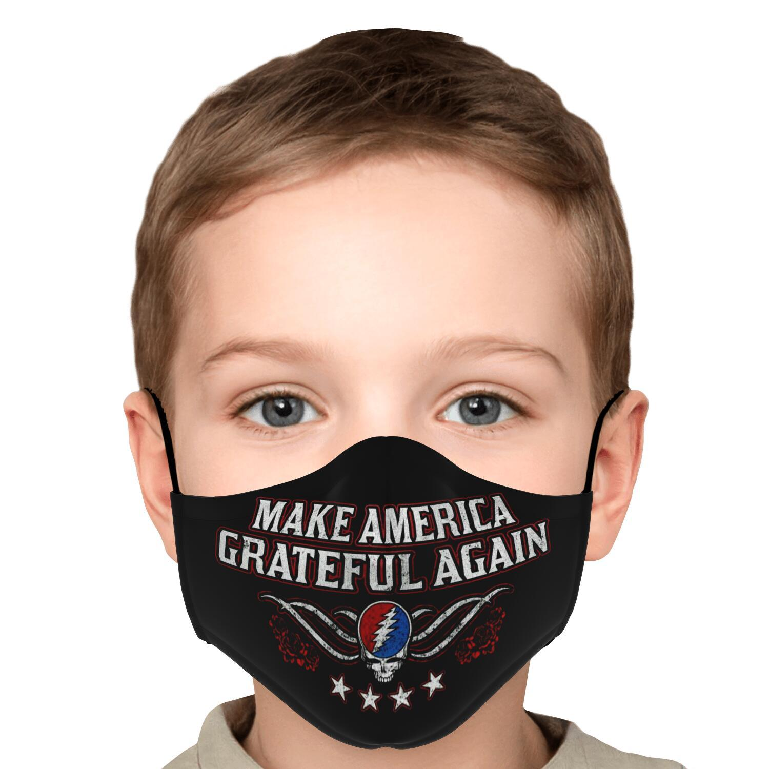 Grateful Dead Make America Grateful Again Face Mask 5