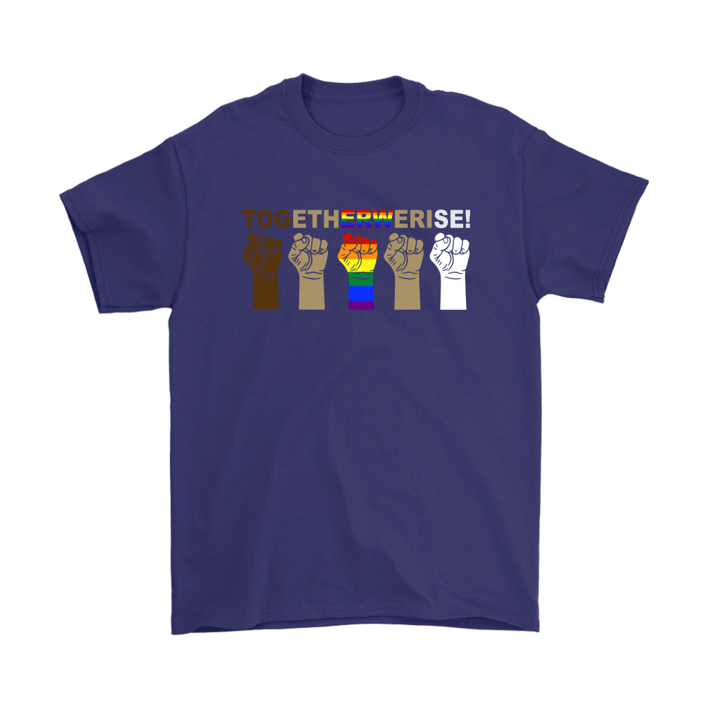 LGBT TOGETHER WE RISE Shirts 3