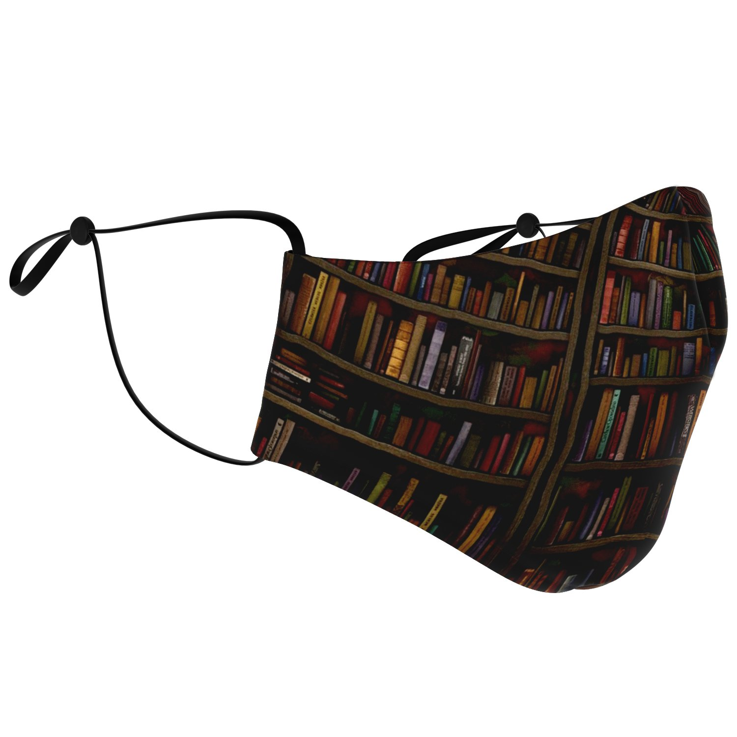 Librarian Old Book Lovers Face Mask 2