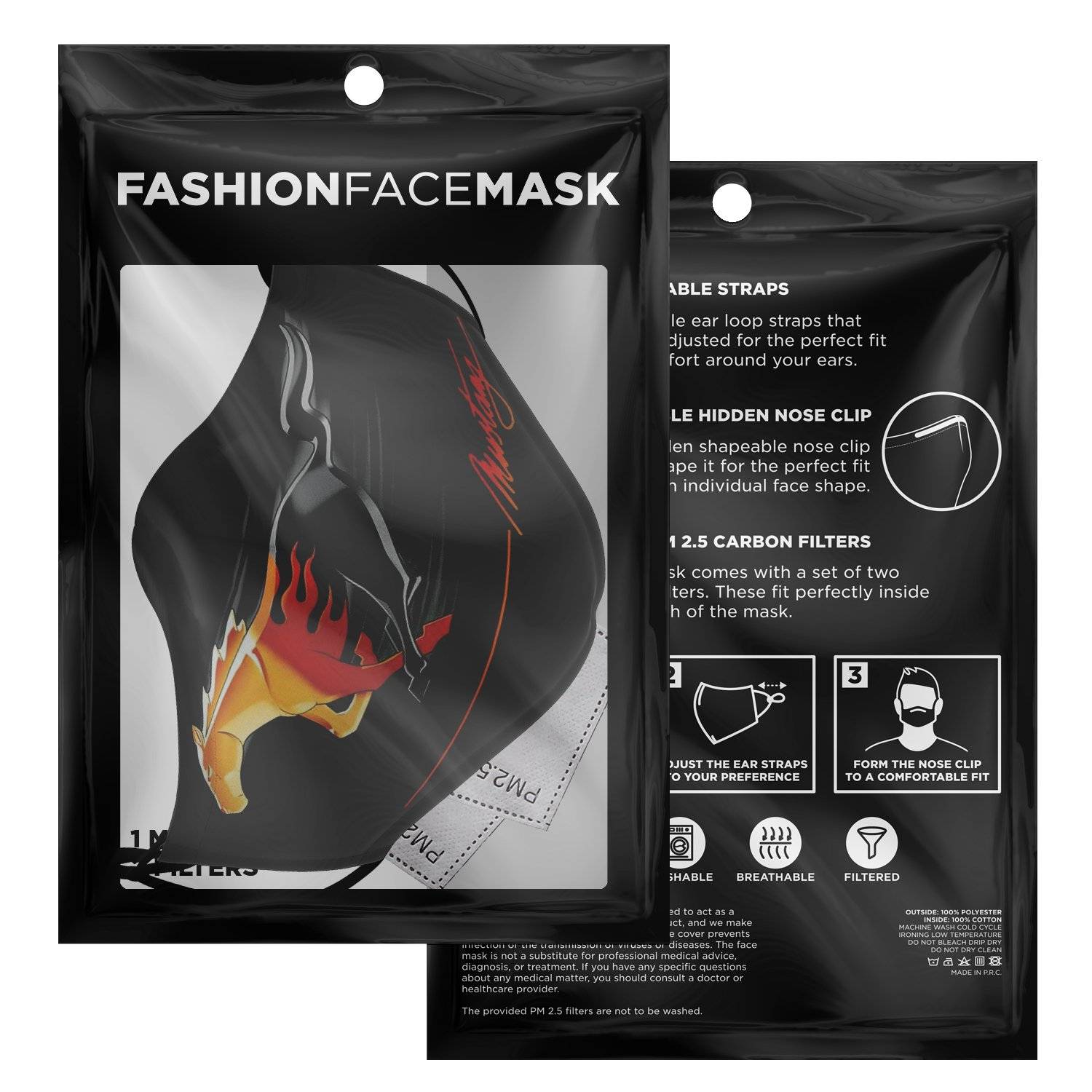 Mustang Face Mask 3