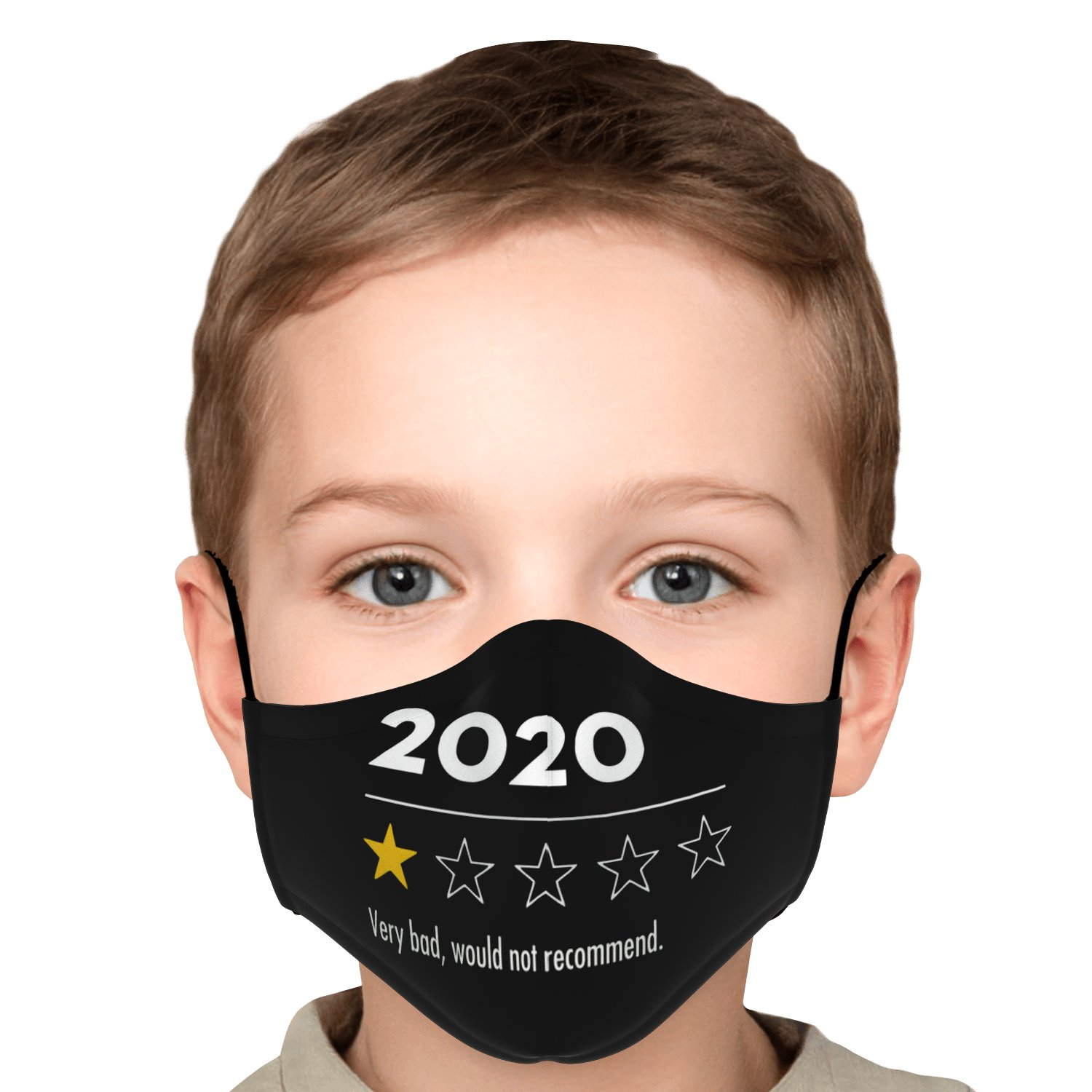 Very Bad Would Not Recommend 2020 Funny Review Face Mask 6