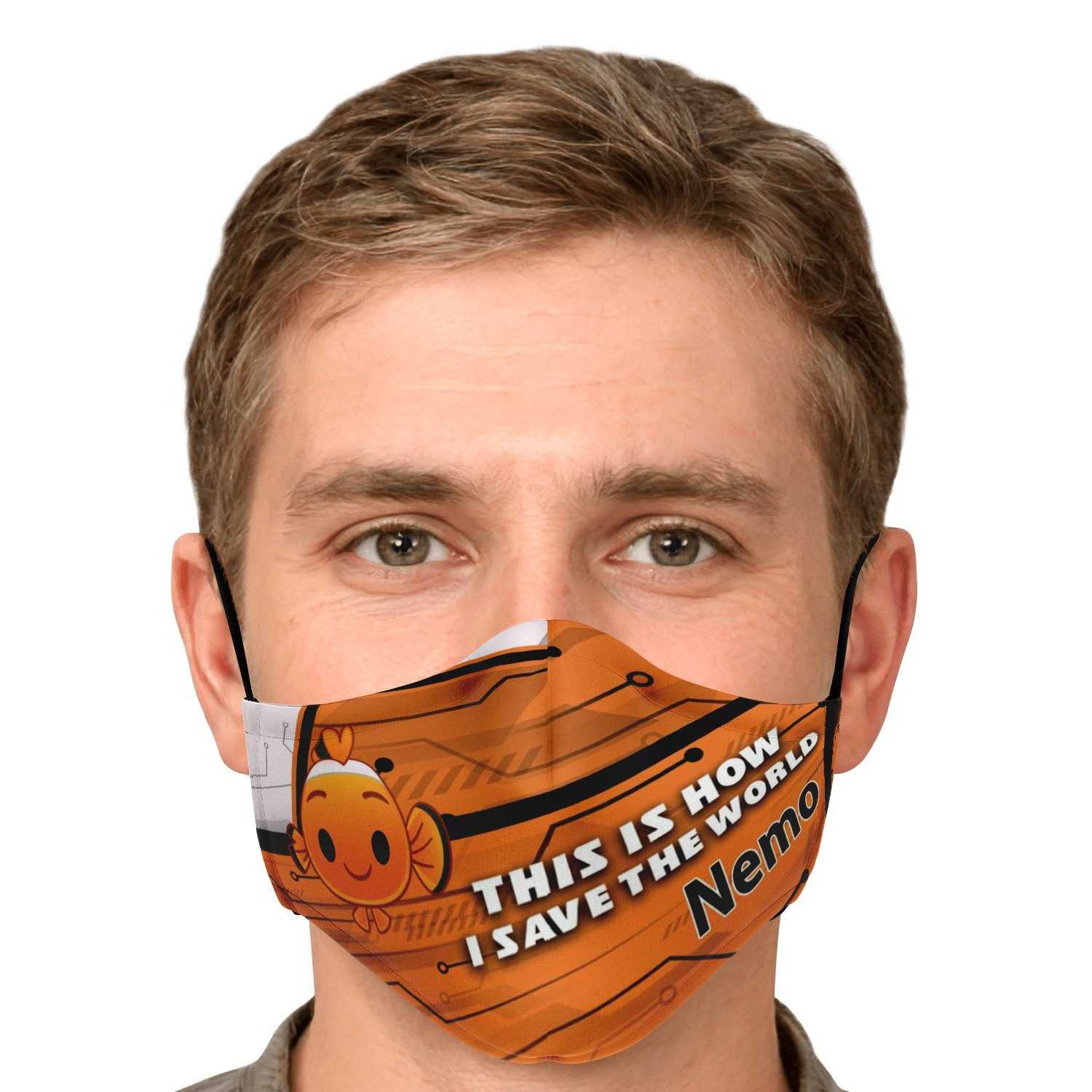 This Is How I Save The World Nemo Disney Face Masks 4