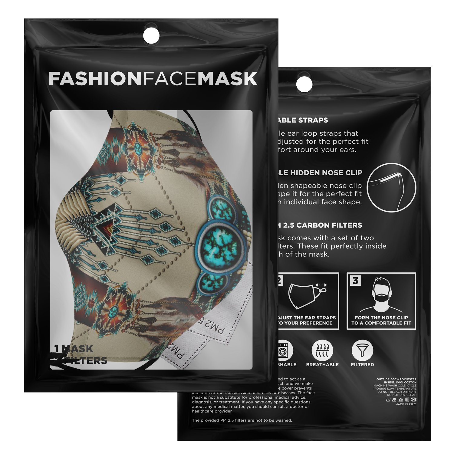 Native American Face Mask 3