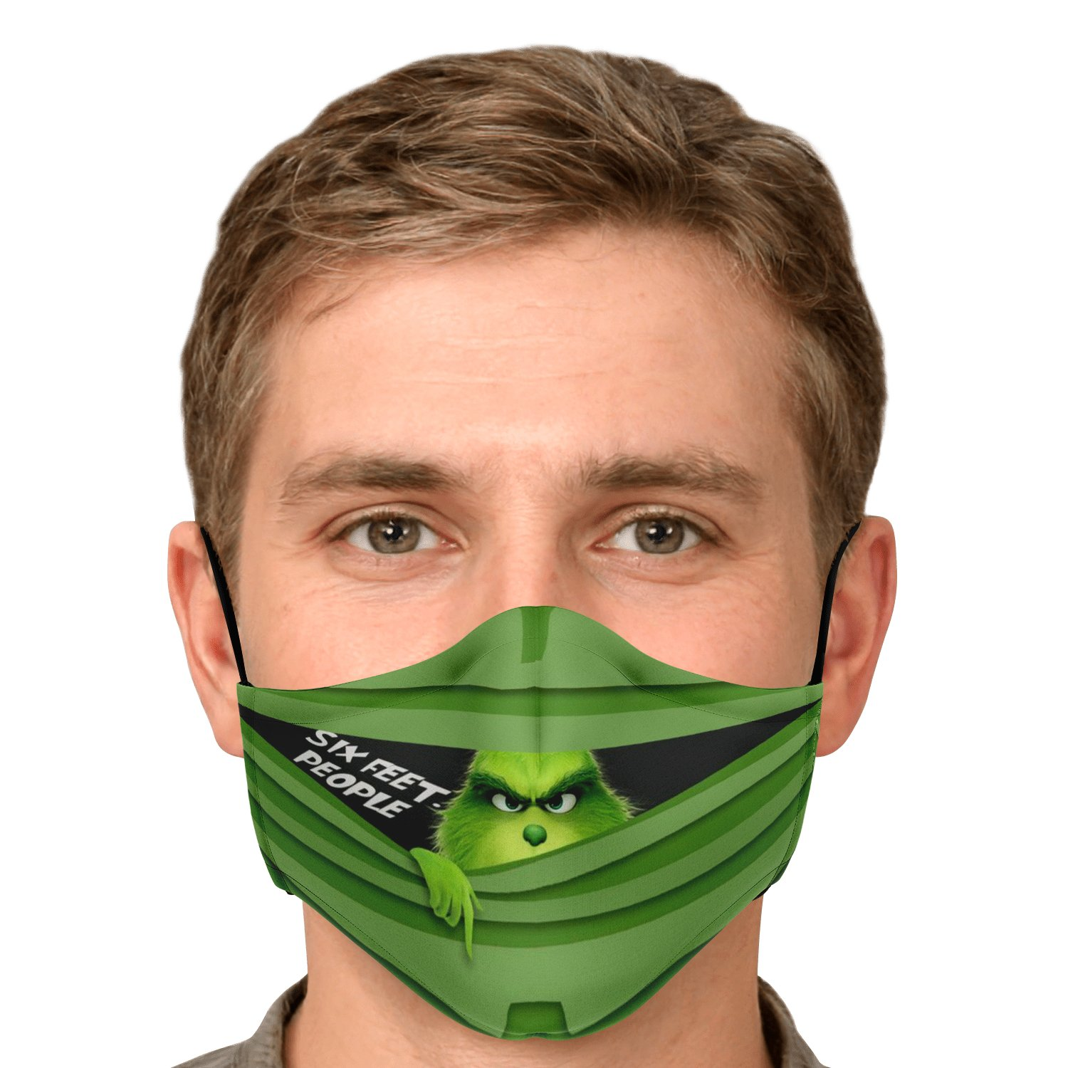 Six Feet People The Grinch Face Mask 5