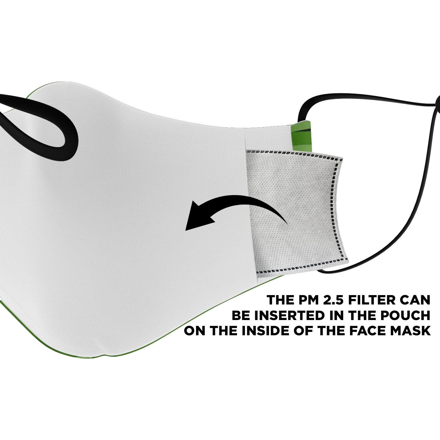 Six Feet People The Grinch Face Mask 4