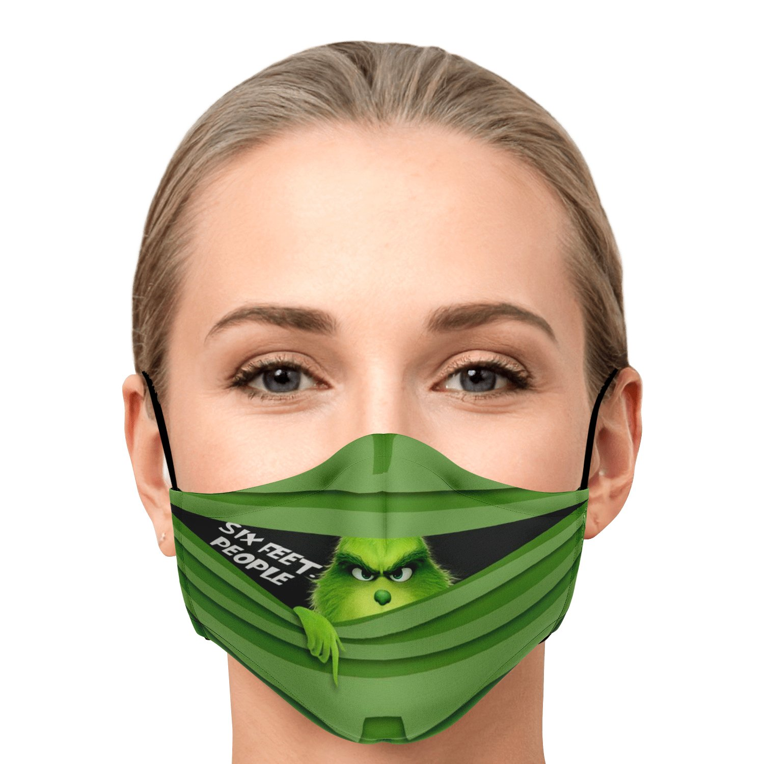 Six Feet People The Grinch Face Mask 1