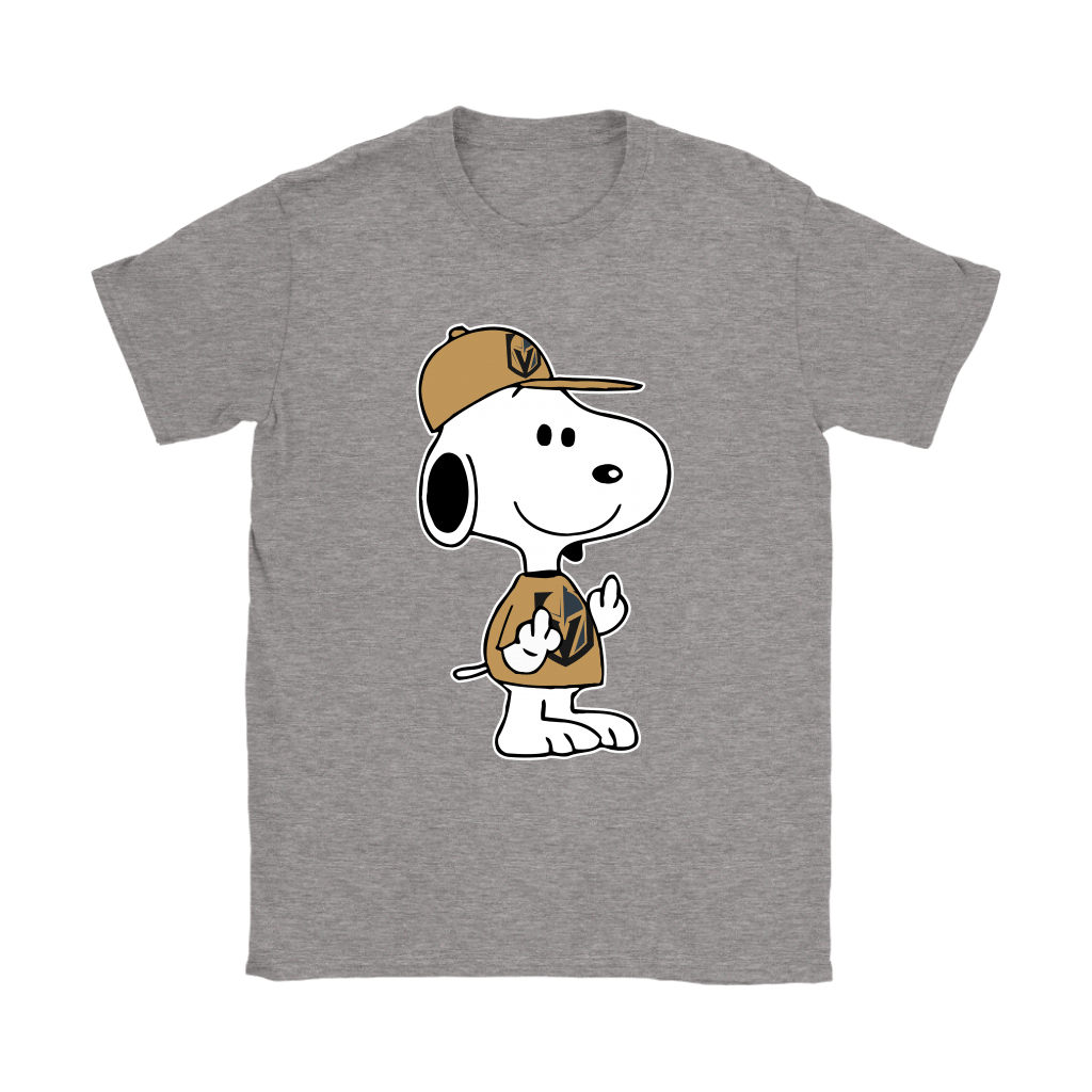 Vegas Golden Knights Snoopy Double Middle Fingers Fck You NHL Shirts 13