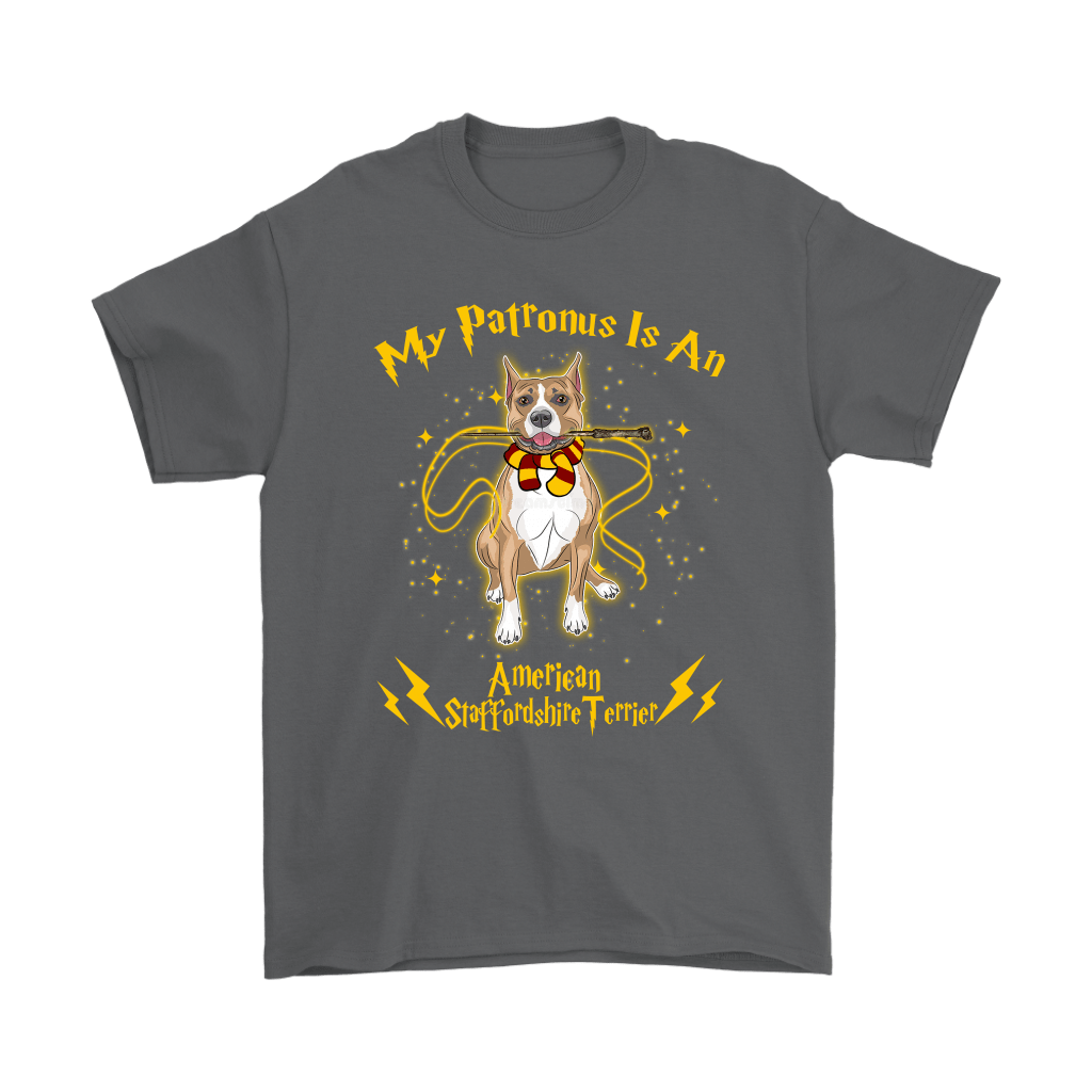 My Patronus Is A American Staffordshire Terrier Harry Potter Dog Shirts 2
