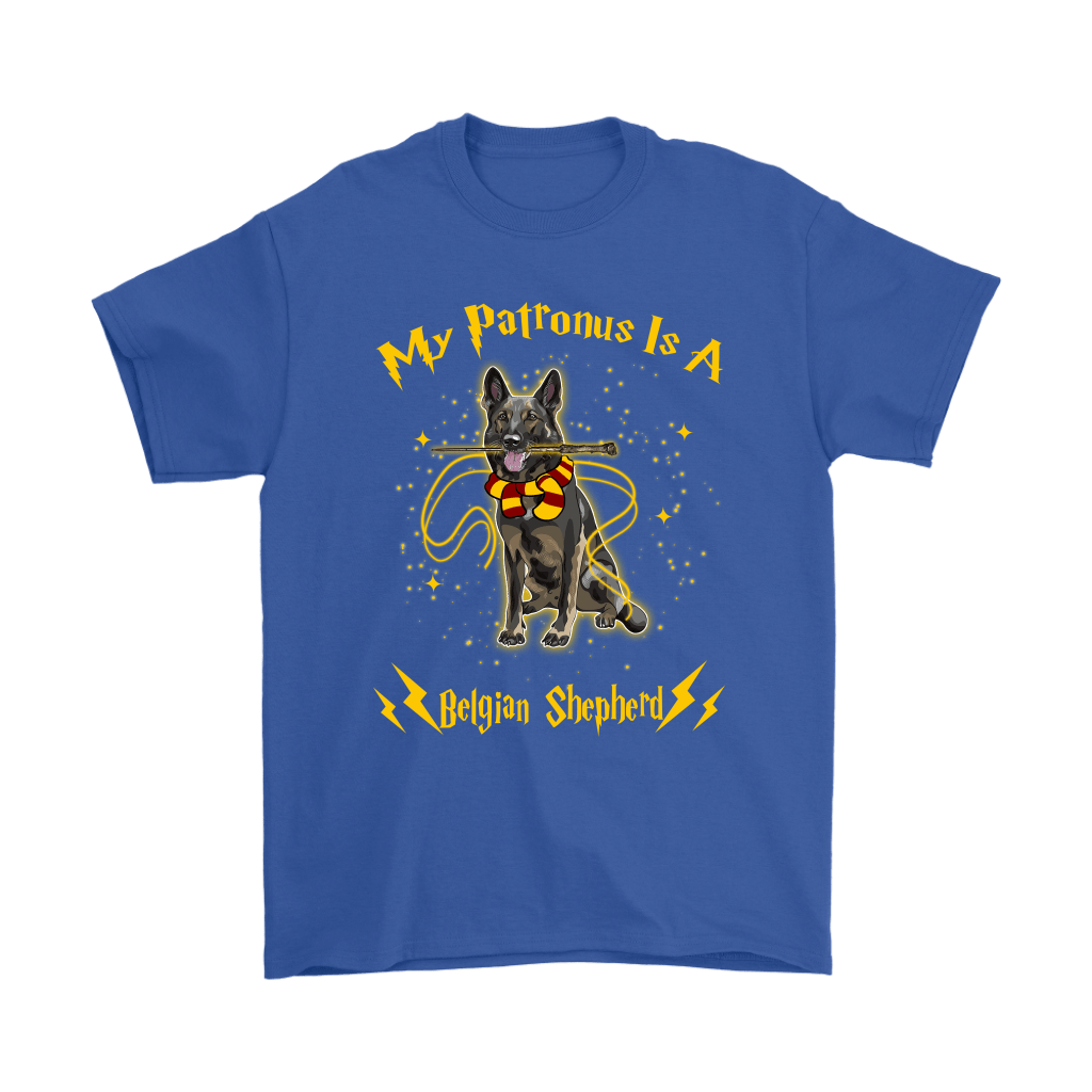 My Patronus Is A Belgian Shepherd Harry Potter Dog Shirts 6