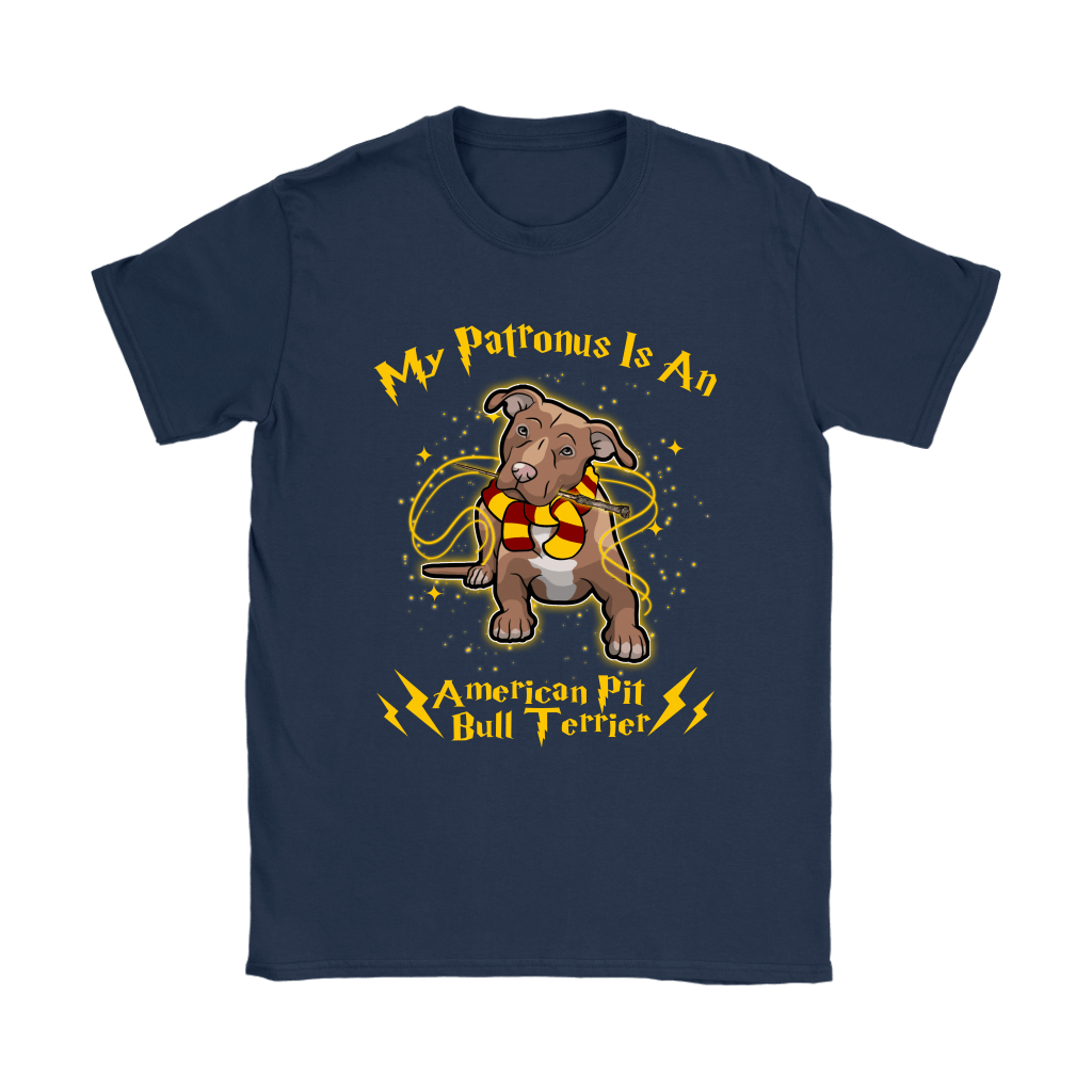 My Patronus Is A American Pit Bull Terrier Harry Potter Dog Shirts 10