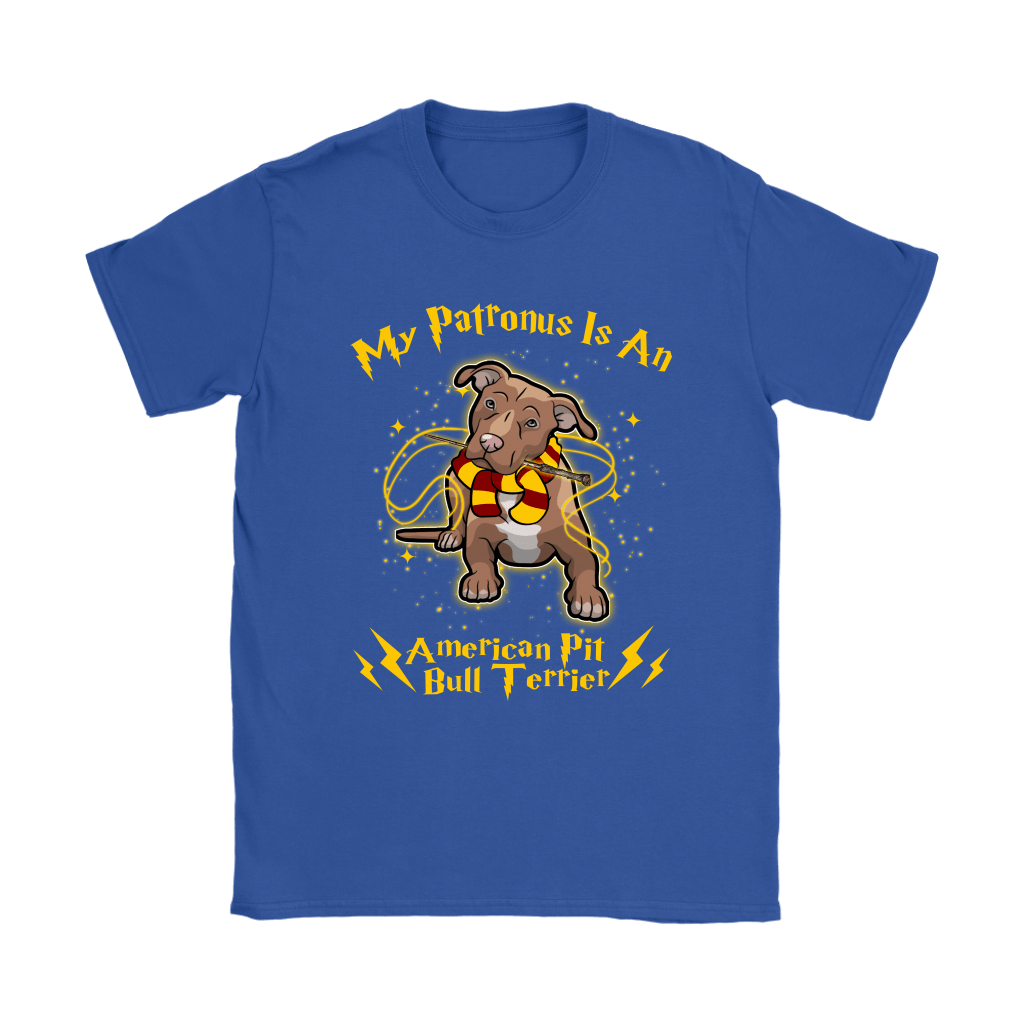My Patronus Is A American Pit Bull Terrier Harry Potter Dog Shirts 13