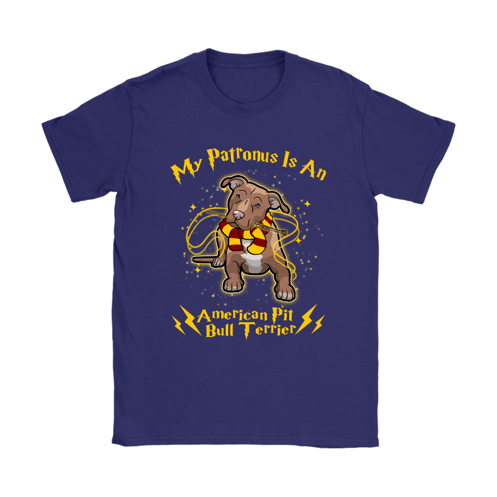 My Patronus Is A American Pit Bull Terrier Harry Potter Dog Shirts 11