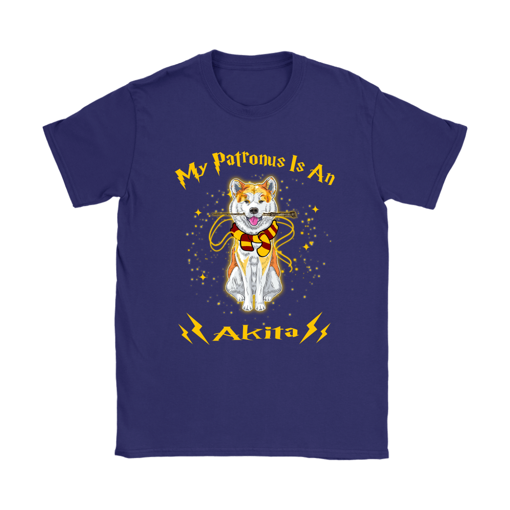 My Patronus Is A Akita Harry Potter Dog Shirts 11