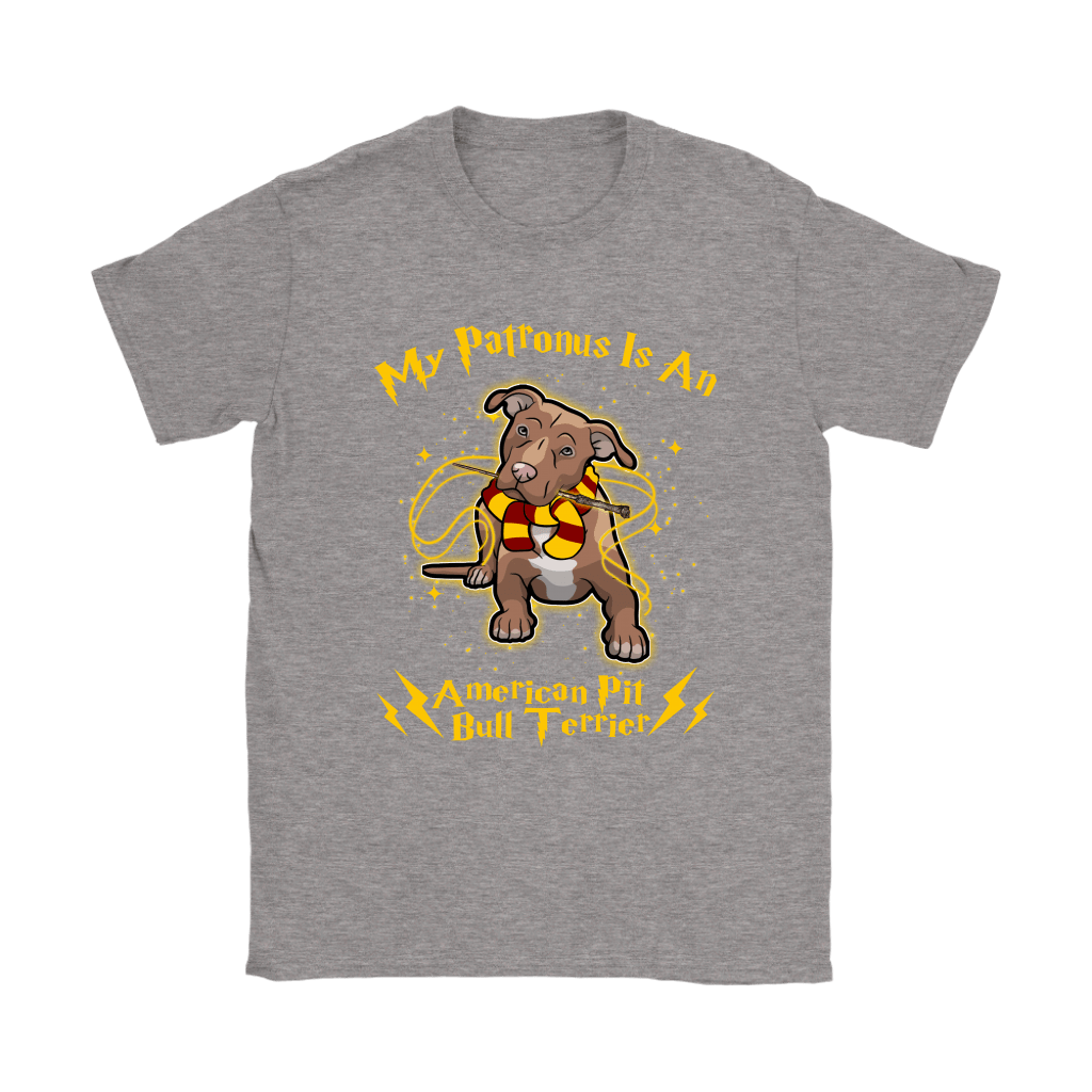 My Patronus Is A American Pit Bull Terrier Harry Potter Dog Shirts 14