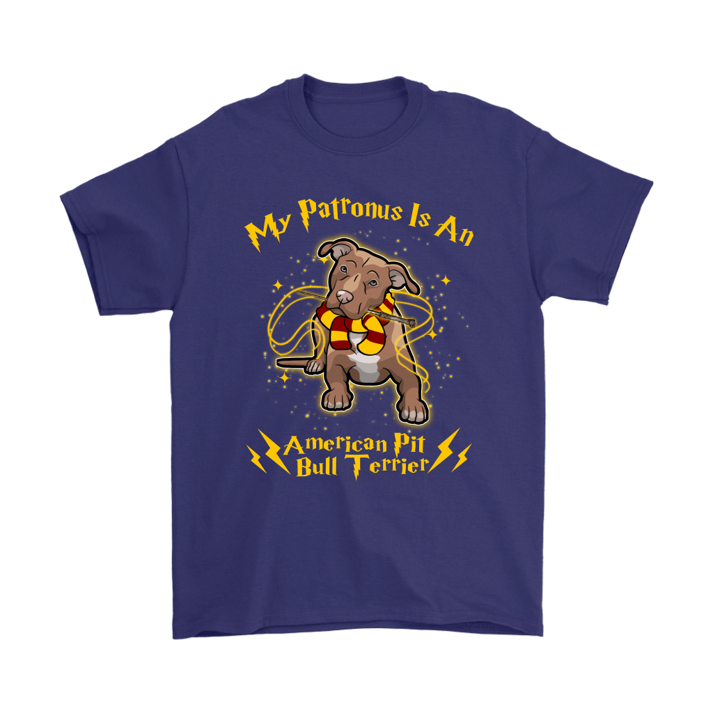 My Patronus Is A American Pit Bull Terrier Harry Potter Dog Shirts 4