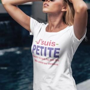 Teeshirt Femme - J'suis Petite
