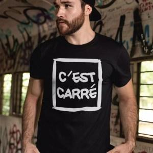 Teeshirt Homme - C'est carré