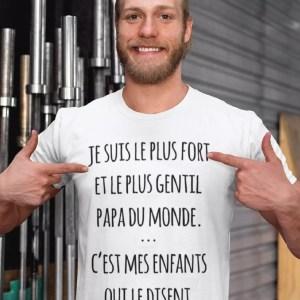Teeshirt Homme - Le Plus Gentil Du Monde