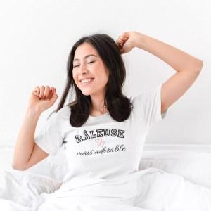 Teeshirt Femme - Râleuse Mais Adorable