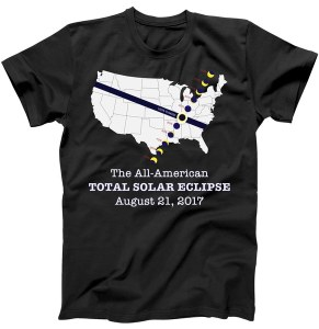 All American Total Solar Eclipse 2017 T-Shirt