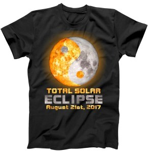 Yin Yang Total Solar Eclipse August 21st, 2017 T-Shirt